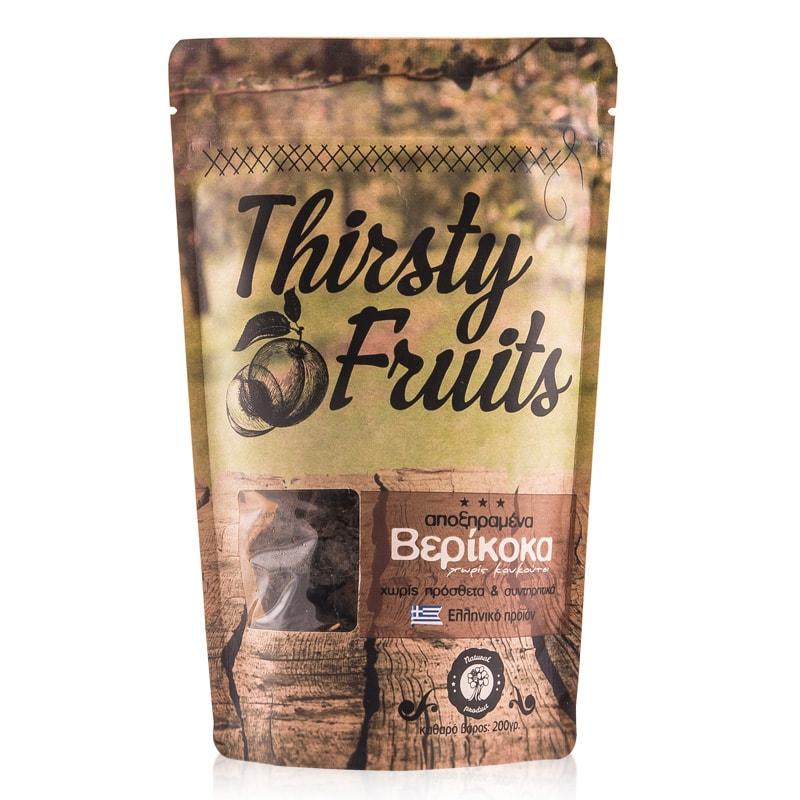 Αποξηραμένα Βερίκοκα «Thirsty Fruits» 200γρ