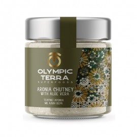 Chutney Αρώνια με Αλόη Βέρα, χωρίς γλουτένη  «Olympic Terra Superfoods» 250γρ