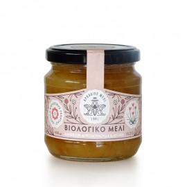 Βιολογικό Μέλι Ανθέων από Αγριολούλουδα και Βότανα «Αρκαδικό Μέλι» 450γρ