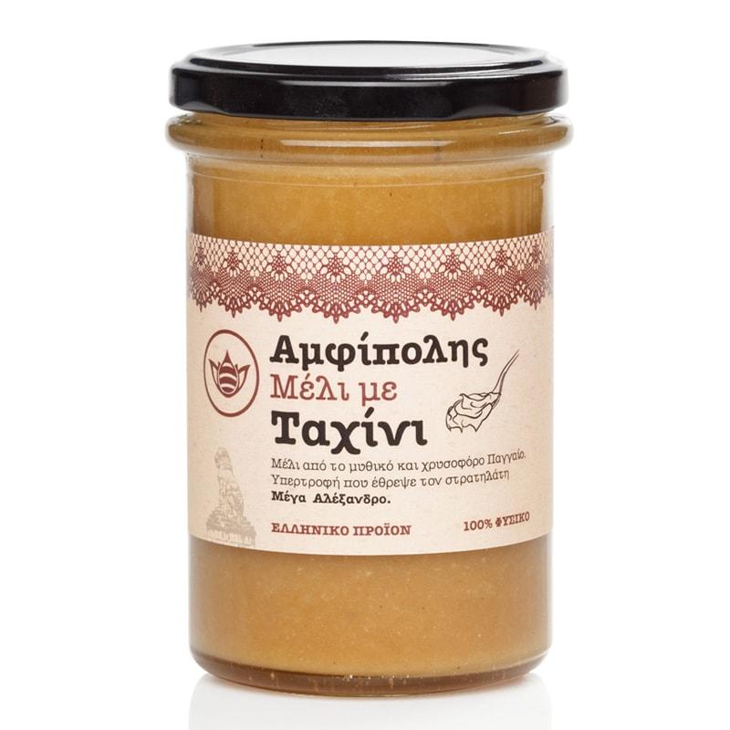 Μέλι με Ταχίνι «Μελισσοκομία Αμφίπολης» 350γρ