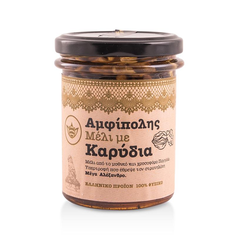 Μέλι με Καρύδια «Μελισσοκομία Αμφίπολης» 250γρ