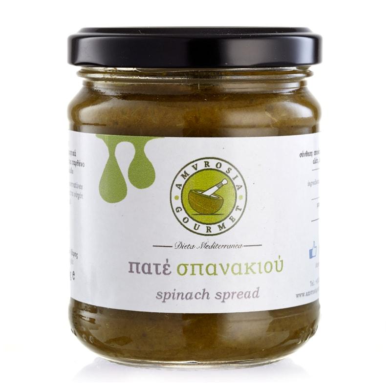 Άλειμμα Σπανάκι «Amvrosia Gourmet» 200γρ