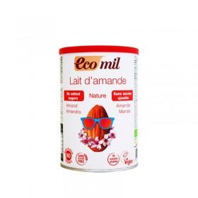 Βιολογικό γάλα αμυγδάλου σε σκόνη χωρίς ζάχαρη, χωρίς γλουτένη «Ecomil, OLA-BIO» 400γρ