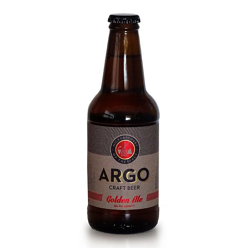 Μπίρα Αργώ Golden Ale «Μικροζυθοποιία Θεσσαλίας» 330ml