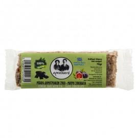 Μπάρα δημητριακών με σύκο και μαύρη σοκολάτα 100% φυσική - «Αρκαδιανή» 70γρ