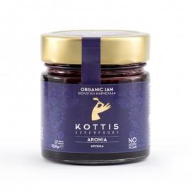 Βιολογική Μαρμελάδα Αρώνια χωρίς Ζάχαρη, χωρίς Γλουτένη «KOTTIS SUPERFOODS» 250γρ