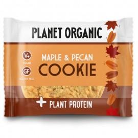 Βιολογικό Μπισκότο με Σφένδαμο, Πεκάν & φυτική πρωτεΐνη, χωρίς λευκή ζάχαρη, χωρίς γλουτένη «Planet Organic» 50γρ VEGAN