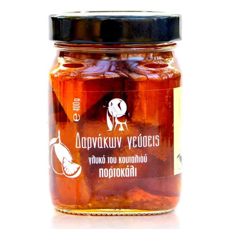 Γλυκό του Κουταλιού (Πορτοκάλι) «Δαρνάκων Γεύσεις» 400γρ