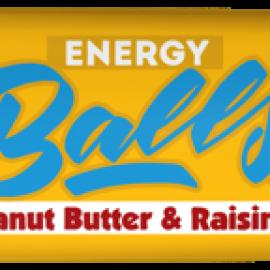 Energy Balls - Μπουκιές ενέργειας με Χουρμάδες, Αμύγδαλα, Φυστικοβούτυρο & Σταφίδες, χωρίς ζάχαρη, χωρίς γλουτένη «Rho Foods» 40γρ