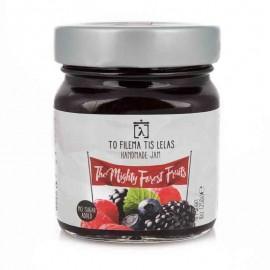 Μαρμελάδα Φρούτα του Δάσους χωρίς Ζάχαρη «Το Φίλεμα της Λέλας» 250γρ