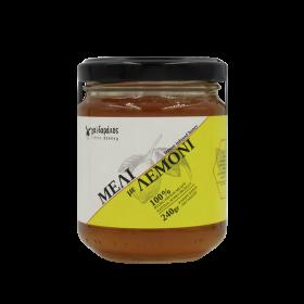 Μέλι με αιθέριο έλαιο Λεμονιού «Γαΐδαράκος» 240γρ