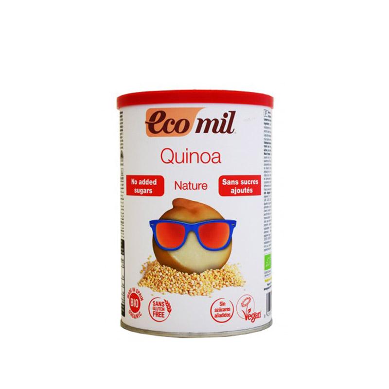 Βιολογικό γάλα κινόα σε σκόνη χωρίς ζάχαρη, χωρίς γλουτένη «Ecomil, OLA-BIO» 400γρ