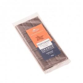 Χειροποίητη Σοκολάτα Υγείας χωρίς Ζάχαρη με Πορτοκάλι «Κοχύλι» 50γρ