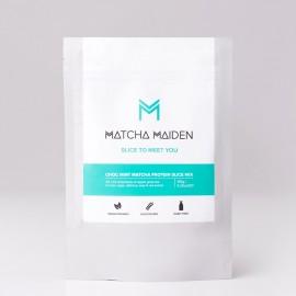 Slice to Meet You - Matcha Maiden Blend - Αντιοξειδωτικό πράσινο Τσάι Matcha με Vegan Πρωτεΐνη & Κακάο 150γρ