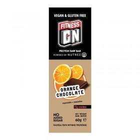 Μπάρα πρωτεΐνης χωρίς ζάχαρη, χωρίς γλουτένη, με Πορτοκάλι & Σοκολάτα - «NUTREE» 60γρ
