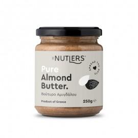 Αμυγδαλοβούτυρο χωρίς ζάχαρη, χωρίς γλουτένη «The Nutlers» 250γρ