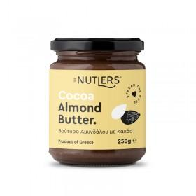 Αμυγδαλοβούτυρο με Κακάο χωρίς ζάχαρη, χωρίς γλουτένη «The Nutlers» 250γρ