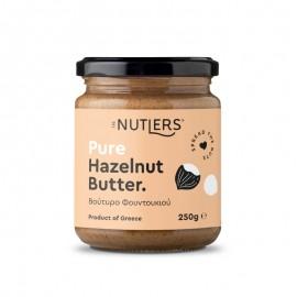 Φουντουκοβούτυρο χωρίς ζάχαρη, χωρίς γλουτένη «The Nutlers» 250γρ