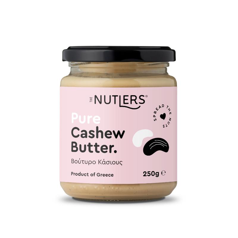 Βούτυρο Κάσιους χωρίς ζάχαρη, χωρίς γλουτένη «The Nutlers» 250γρ