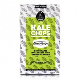 Raw Kale Chips (Αποξηραμένα φύλλα λαχανίδας Kale με τραγανή επικάλυψη) Classic «Rho Foods» 40γρ