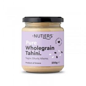 Ταχίνι Ολικής Άλεσης χωρίς ζάχαρη, χωρίς γλουτένη «The Nutlers» 250γρ