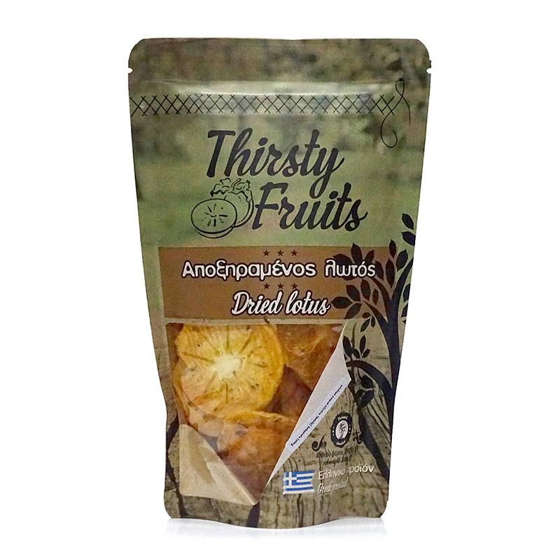 Αποξηραμένος Λωτός χωρίς ζάχαρη «Thirsty Fruits» 100γρ