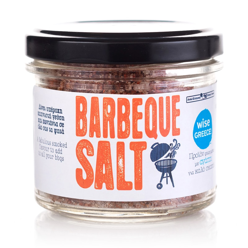BBQ Salt «Simply Greek for WISE Greece» 90γρ